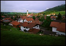 View of Nesselwang. Germany ( color)