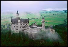 Neuschwanstein. Germany ( color)