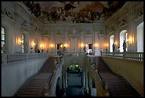Main staircase in the Residenz. Wurzburg, Bavaria, Germany