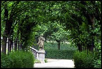 In the Residenz gardens. Wurzburg, Bavaria, Germany ( color)