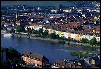 The Main River. Wurzburg, Bavaria, Germany ( color)