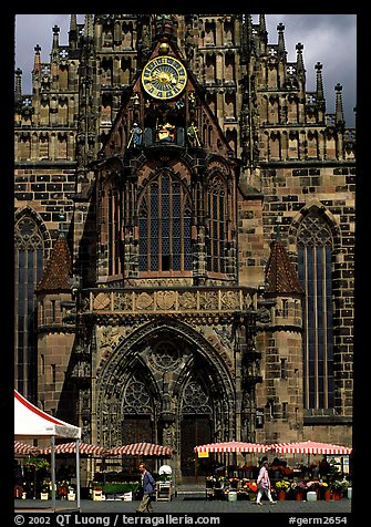 Liebfrauenkirche (church of Our Lady). Nurnberg, Bavaria, Germany