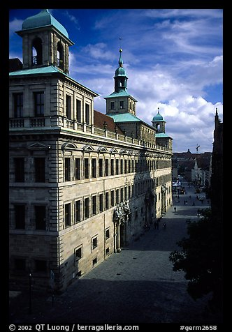 Rathaus (city hall). Nurnberg, Bavaria, Germany (color)