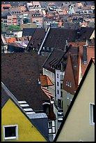 Old town rooftops. Nurnberg, Bavaria, Germany