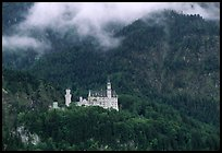 Neuschwanstein, one of the castles built for King Ludwig. Bavaria, Germany