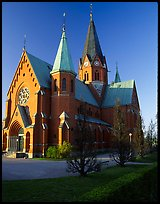 Cathedral. Gotaland, Sweden ( color)