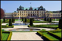 Park and royal residence of Drottningholm. Sweden