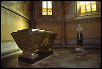 Tomb and bust, royal residence of Drottningholm. Sweden ( color)