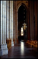 Inside the Cathedral of Uppsala. Uppland, Sweden