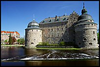 Orebro slott (castle) in Orebro. Central Sweden ( color)
