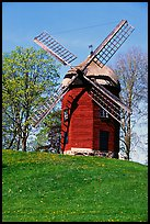 Windmill. Gotaland, Sweden ( color)