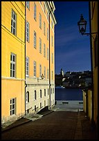 Looking out to the Malaren from Gamla Stan. Stockholm, Sweden ( color)