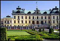 Park and Royal residence of Drottningholm. Sweden (color)