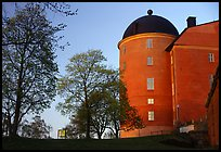 Uppsala castle. Uppland, Sweden ( color)