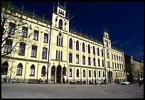 City hall, Orebro. Central Sweden ( color)