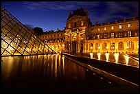 Pictures of Louvre and Tuileries