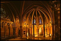 Lower Holy Chapel. Paris, France