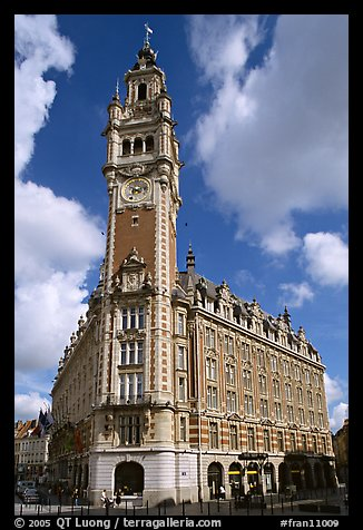 Belfries, Lille. France (color)