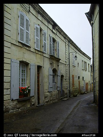 Street. Loire Valley, France