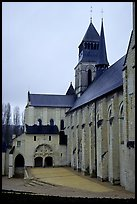 Abbaye de Frontevrault (Abbey of Frontevrault). Loire Valley, France