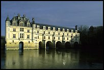 Chenonceaux chateau. Loire Valley, France (color)