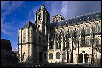 Saint-Etienne Cathedral. Bourges, Berry, France ( color)