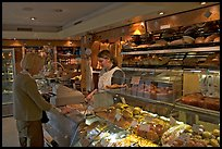 Inside a bakery. Paris, France