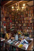 Front counter of Shakespeare and Company bookstore. Quartier Latin, Paris, France