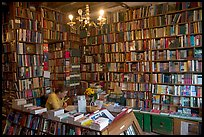 Shakespeare and Company bookstore. Quartier Latin, Paris, France (color)