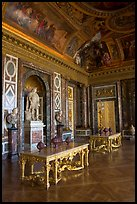 Versailles Palace room. France (color)