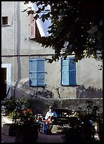 Street scene in Vallauris. Maritime Alps, France ( color)