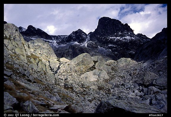 Mont Gelas in late fall, Mercantour National Park. Maritime Alps, France (color)