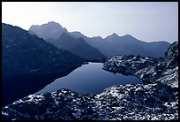 Lake in early winter in, Mercantour National Park. Maritime Alps, France (color)