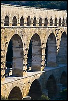 Arches of Pont du Gard. France ( color)