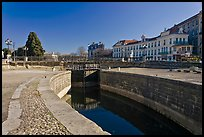 Lock, Canal du Midi. Carcassonne, France (color)