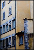 House facade. Grenoble, France ( color)