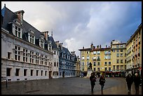 Place St Andre. Grenoble, France (color)