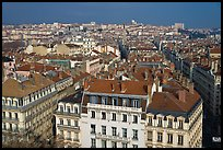 Presqu'ile cityscape. Lyon, France (color)