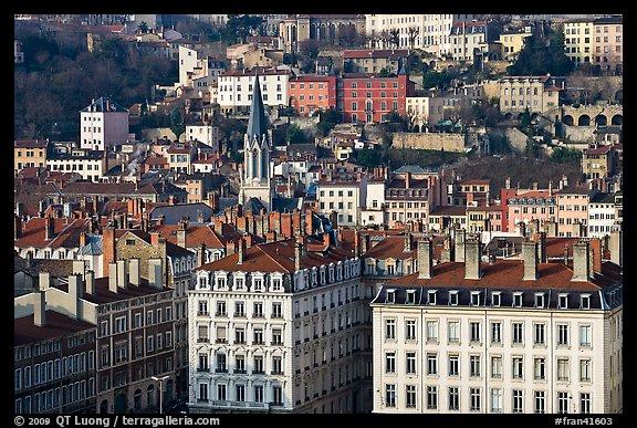 Picture Photo Eglise St George Vieille Ville Lyon France