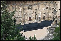 Roman Theater. Provence, France ( color)