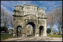 Ancient Roman arch, Orange. Provence, France