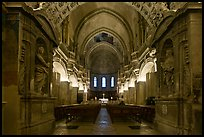 Inside the Cathedral of Notre-Dame-des-Doms. Avignon, Provence, France