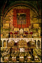 Relics, Saint Trophime church. Arles, Provence, France ( color)