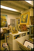 Artist's studio. Arles, Provence, France ( color)