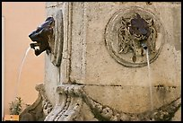 Fountain detail. Aix-en-Provence, France