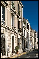 Old townhouses. Arles, Provence, France ( color)