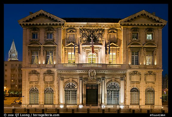 Historic customs house. Marseille, France (color)