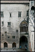 Inside the Palais des Papes. Avignon, Provence, France ( color)