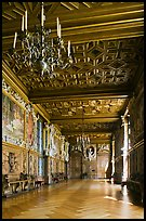 Gallerie Francois 1er, Fontainebleau Palace. France