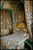 Queen's room, Fontainebleau Palace. France